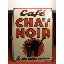 1 TOLE  CAFE CHAT NOIR