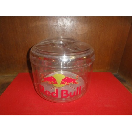 1 SEAU A GLACE  RED BULL G.M.