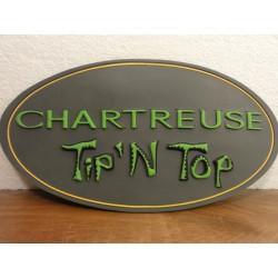1 TAPIS CHARTREUSE EN CAOUTCHOUC