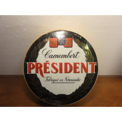 6 ASSIETTES COLLECTOR CAMENBERT PRESIDENT