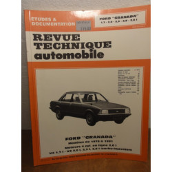 1 REVUE TECHNIQUE FORD GRANADA  DE 1978 A 1981