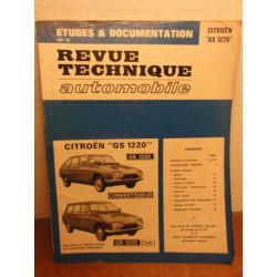 1 REVUE TECHNIQUE  CITROEN GS 1220