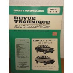 1 REVUE TECHNIQUE RENAULT 9 ET 11