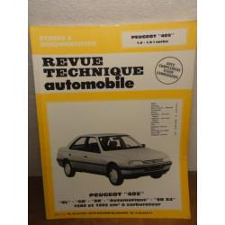 1 REVUE TECHNIQUE PEUGEOT 405 1.6 1.9 CARBU