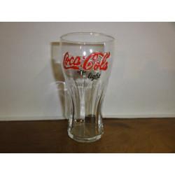 1 VERRE COCA-COLA  ROUGE LIGHT