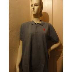 1 POLO DUVEL GRIS  TAILLE XL