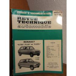 1 REVUE TECHNIQUE RENAULT 5TS 5LS 5GTL