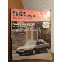 1 REVUE TECHNIQUE ROVER SERIE 200  400