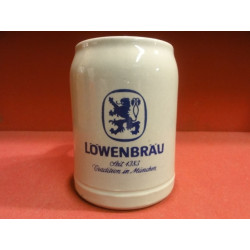 1 CHOPE GRE LOWENBRAU 50CL