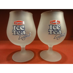 6 VERRES BALLON  LIPTON  ICE TEA  LIGHT 25CL