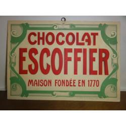1 CARTON CHOCOLAT ESCOFFIER
