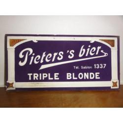1 CARTON  PIETER'S  S BIER
