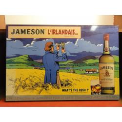 1 PLAQUE WHISKY JAMESON L'IRLANDAIS
