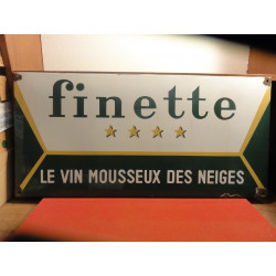PLAQUE EMAILLEE FINETTE
