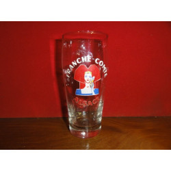 1 VERRE EMAILLE  FRANCHE COMTE