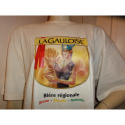 1 TEE SHIRT BIERE LA GAULOISE