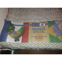 BANDEROLLE  FRANCE BRESIL