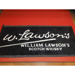 1 TAPIS DE BAR WILLIAM LAWSON'S