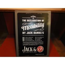 1 TOLE JACK DANIEL'S 42X30