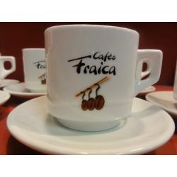 6 TASSES A CHOCOLAT  FRAICA 20CL