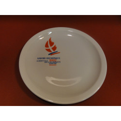 6 ASSIETTES A FROMAGE  JEUX OLYMPIQUES ALBERVILLE 1992