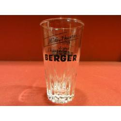 1 VERRE BERGER MIDI 7HEURES L'HEURE DU BERGER