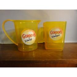 1PICHET+SEAU A GLACE  GORDON'S