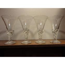 4 COUPES A GLACE 30CL HT. 20cm