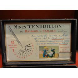 "1 BOITE MINES"" CENDRILLON "" DE BAIGNOL&FARJON"
