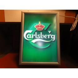 ENSEIGNE  LUMINEUSE CARLSBERG