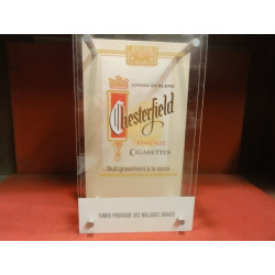 1 PRESENTOIR  CIGARETTES CHESTERFIELD