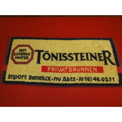 1 TAPIS DE BAR TONISSTEINER