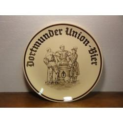 1 ASSIETTE DORTMUNDER-UNION BIER