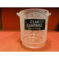 1 SEAU A GLACE CLAN CAMPBELL  HT 13CM