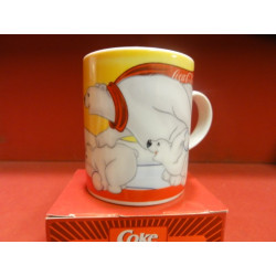 1 MINI  MUG COLLECTOR COCA-COLA  3 OURS