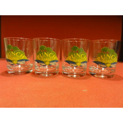 4 VERRES PUNCH SAREL 8CL