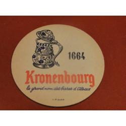 1 SOUS BOCK KRONENBOURG 1664