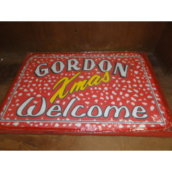TAPIS DE CARTES  GORDON XMAS