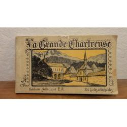 1 CARNET  24 CARTES LA GRANDE CHARTREUSE