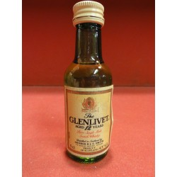 1 MIGNONNETTE WHISKY THE GLENLIVET  5CL