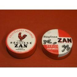 2 BOITES REGLISSE ZAN
