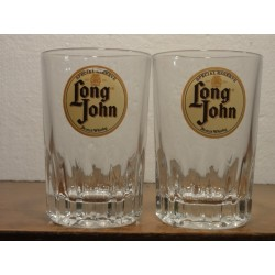 2 VERRES WHISKY LONG JOHN 15CL