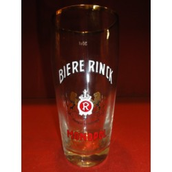 1 VERRE EMAILLE RINCK 30CL