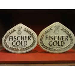 2 PLASTIQUES  FISCHER GOLD