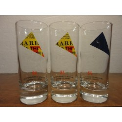 3 VERRES J&B COLLECTOR 17CL