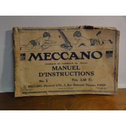 MANUEL MECCANO ANNÉE 1916
