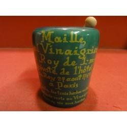 1 MOUTARDIER MAILLE  VERT