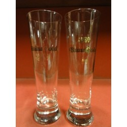 2 VERRES KARLSBERG 25CL DIFFERENTS