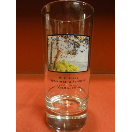 1 VERRE RICARD COLLECTION IMPRESSIONNISTE