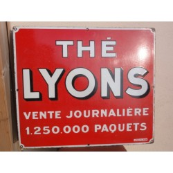 PLAQUE EMAILLEE THE LYONS